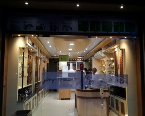 Aruna Hardwares Trichy Godrej Locks Door Fittings Showroom